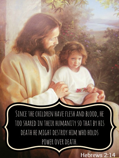 Jesus Christ LDS Quote Children